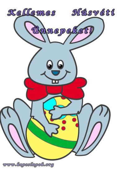 áldott húsvéti ünnepeket képeslap