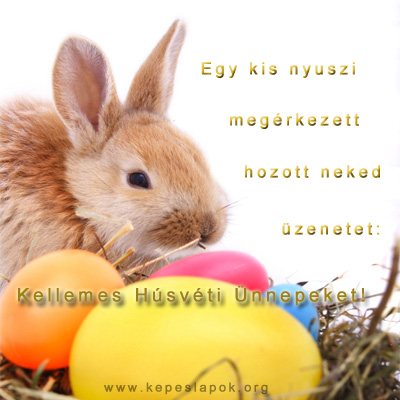 húsvéti idézetes kepeslap