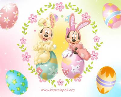 disney húsvéti képeslap