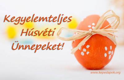 kegyelemteljes húsvéti ünnepeket képeslap