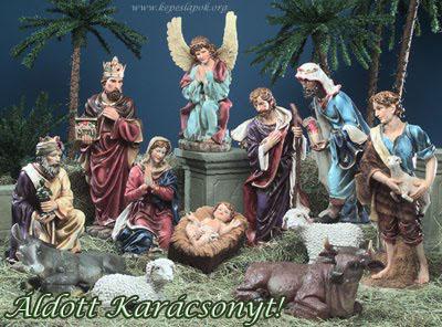 áldott karácsonyt betlehem képeslapok