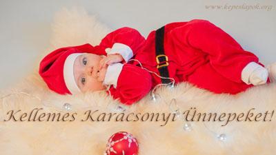 kellemes karácsonyi ünnepeket baba képeslapok