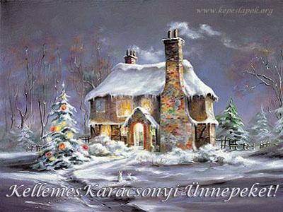 kellemes karácsonyi ünnepeket képeslapok