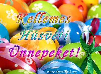 kellemes húsvéti ünnepeket kívánok képeslapok