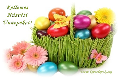 szép húsvéti képeslapok