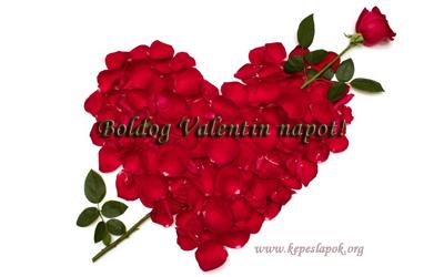 boldog valentin napot rózsaszív