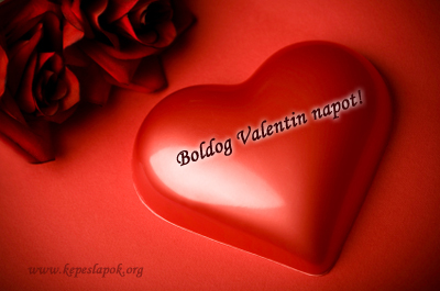 boldog valentin napot szív