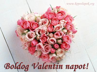 valentin nap rózsacsokor